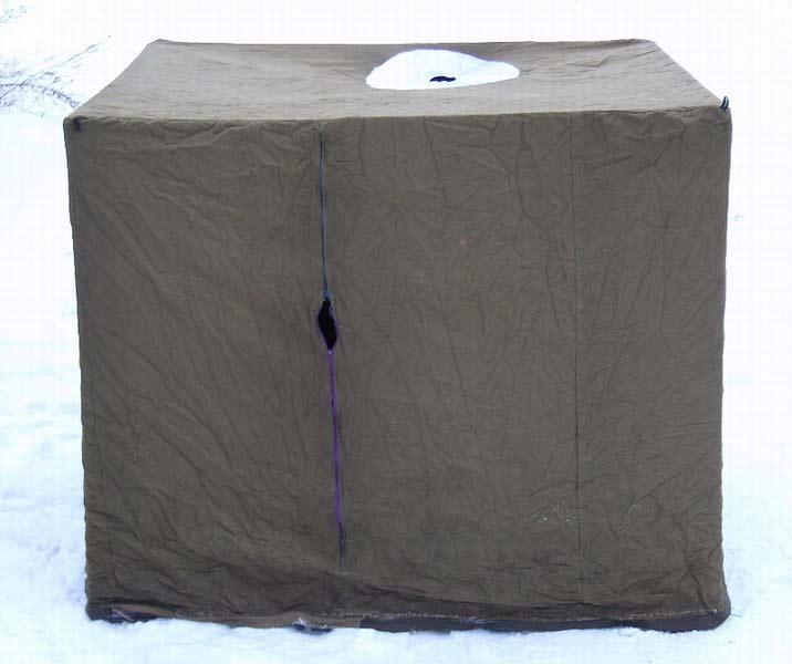 сшить палатку для рыбалки в