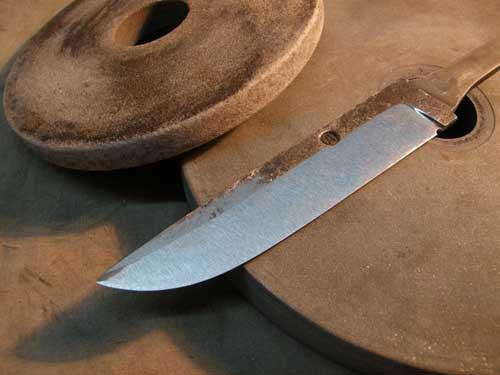 Из чего выковать нож в домашних условиях